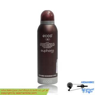 اسپری خوشبو کننده بدن اکو بزرگ مدل افوریا مردانه Ecco Body Spray Euphoria Men