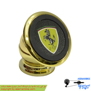 پایه نگه دارنده موبایل 360 درجه طرح فراری Mobile Bracket Ferrari Design