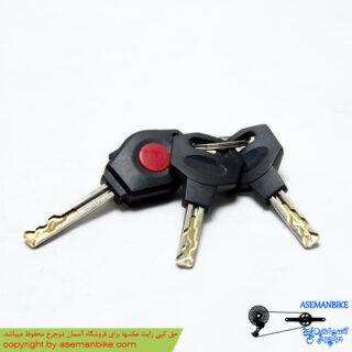 قفل دوچرخه کابلی اوکی مدل کلیدی OK Cable Lock