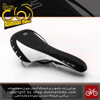 زین دوچرخه سله رویال مدل آوانا مشکی-سفید Selle Royal Saddle Avana Black-White
