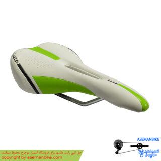 زین دوچرخه ولو سبز سفید Velo Saddle