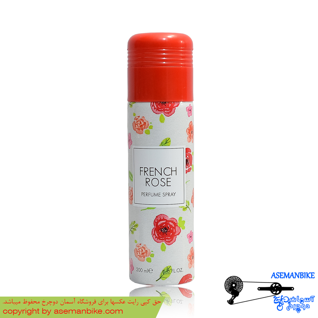 اسپری خوشبو کننده بدن زنانه اکو بزرگ مدل فرنچ رز Ecco Women Body Spray French Rose