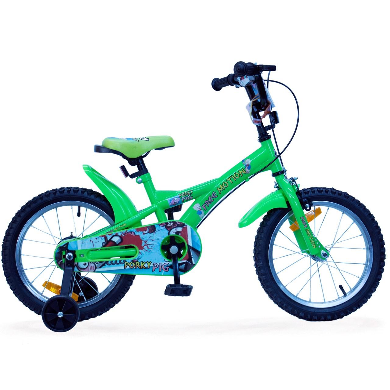 دوچرخه شهری فری موشن پورکی پیگ سایز16 Freemotion Porky Pig Urban