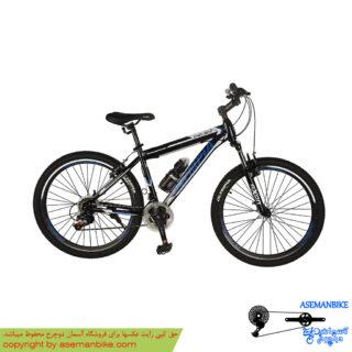 دوچرخه کوهستان المپیا مدل چلسی مشکی آبی سایز 26 Olympia Chelsea Mountian Bicycle