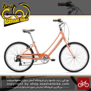 دوچرخه شهري جاينت مدل سود 2 سايز 26 Giant Liv Suede 2 Peach Urban 2018