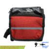 کیف موبایل روی تنه دوچرخه مشکی قرمز Mobile Bag Black Red For Bicycle