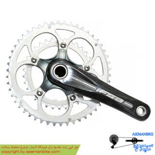 طبق قامه دوچرخه اف اس ای قامه کربن FSA Crankset Carbon