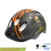 کلاه دوچرخه سواری بچه گانه طرح دار مشکی Kids Helmet Black