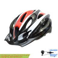 کلاه دوچرخه سواری آر بی مشکی قرمز RB Helmet