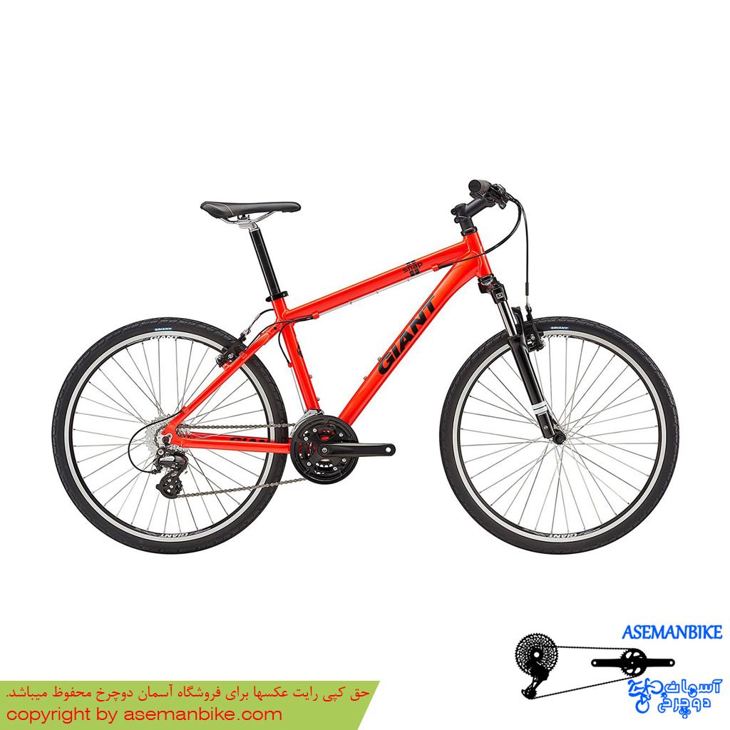 دوچرخه هيبريدي جاينت مدل اسنپ 24 قرمز سايز 26 Giant Snap 24 2017