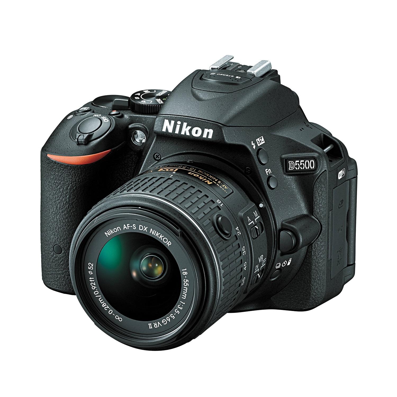 دوربين ديجيتال نيکون مدل Nikon D5500 Kit 18-55 VRII Digital Camera