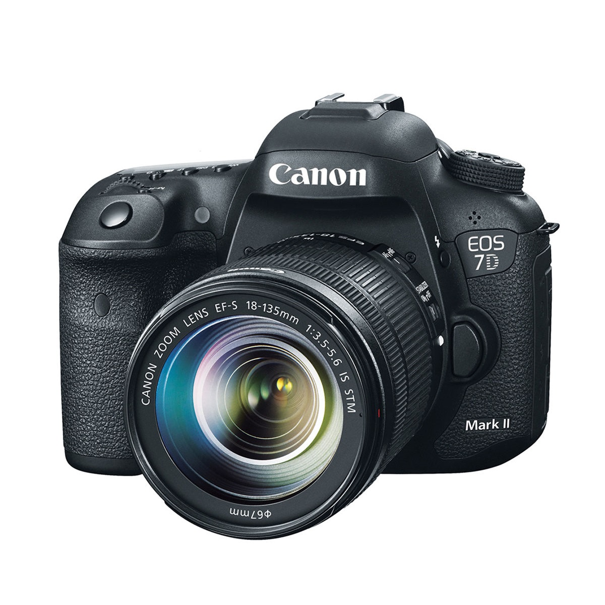 دوربين ديجيتال کانن مدل Canon EOS 7D Mark II+ 18-135 IS STM Digital Camera