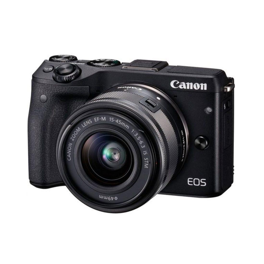 دوربين ديجيتال بدون آينه کانن مدل Canon EOS M3 Mirrorless Digital Camera With 15-45mm EF-M Lens
