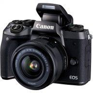 دوربین دیجیتال بدون آینه کانن مدل Canon EOS M5 Mirrorless Digital Camera With 15-45mm IS STM Lens
