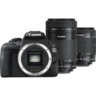 دوربين ديجيتال کانن مدل Canon Kiss X7 (100D) Digital Camera With 18-55mm IS STM and 55-250mm IS II Lenses