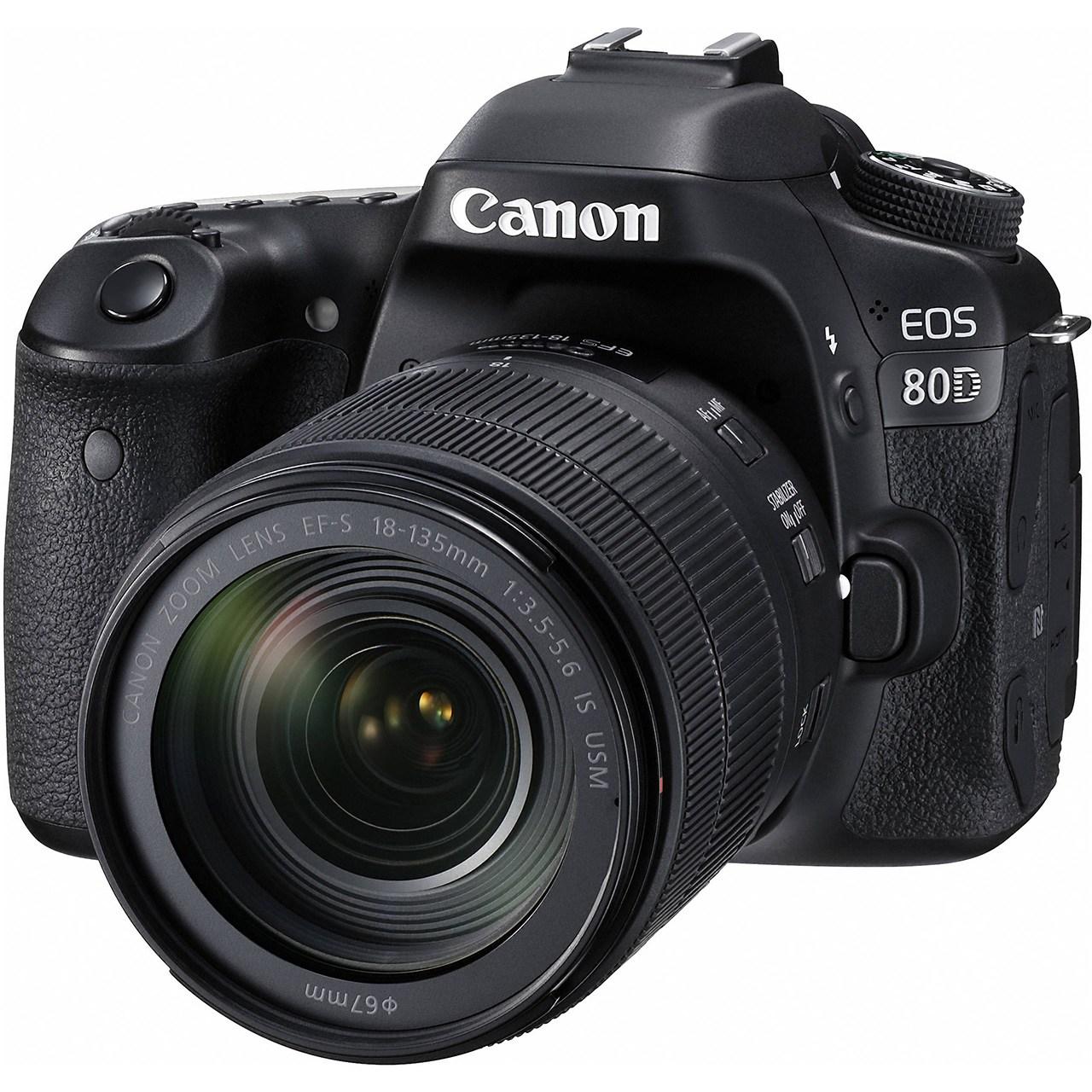 دوربین دیجیتال کانن مدل Eos 80D EF S 18-135mm f/3.5-5.6 IS USM Kit