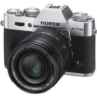 دوربين ديجيتال بدون آينه فوجي فيلم مدل Fujifilm X-T10 Mirrorless Digital Camera with 18-55mm Lens