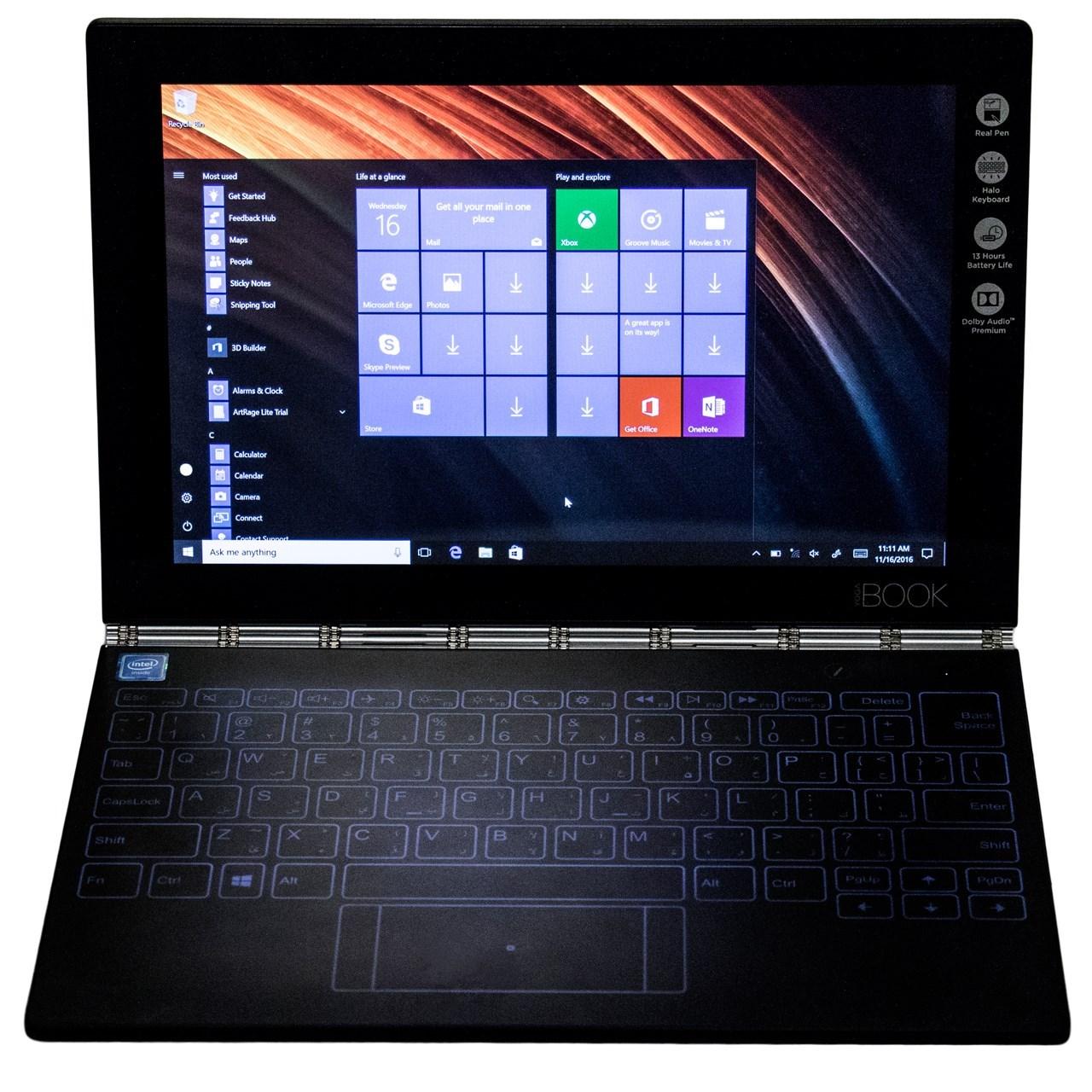 تبلت لنوو مدل (Yoga Book With Windows (4G ظرفيت 64 گيگابايت