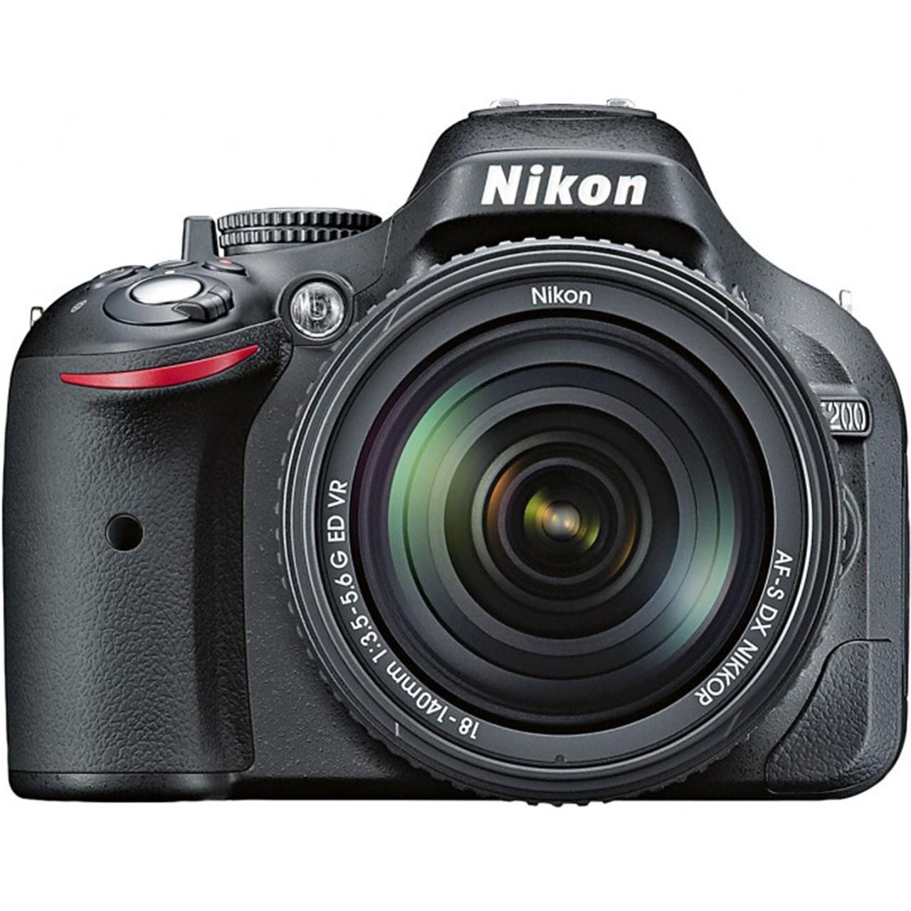 دوربين ديجيتال نيکون مدل Nikon D5200 Nikkor 18 - 140mm VR