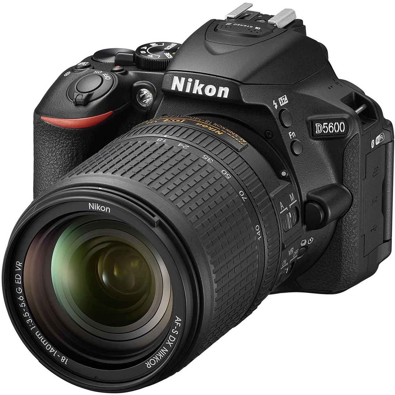 دوربین دیجیتال نیکون مدل Nikon D5600 Digital Camera With 18-140mm VR AF-S DX Lens