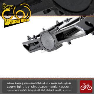 رکاب پدال پهن میخ دار دوچرخه آلومینیوم هِنگ مدل 700 جی یو Heng Pedal 700JU