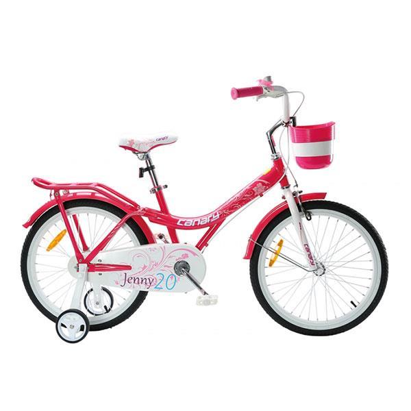 دوچرخه شهری دخترانه قناری مدل جنی سایز 20 Canary Bicycle Jeny Girl size 20