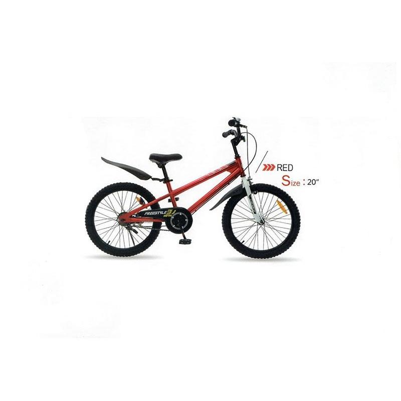 دوچرخه شهري قناري مدل فری استایل قرمز سايز 20 Canary City Bicycle Freestyle 20