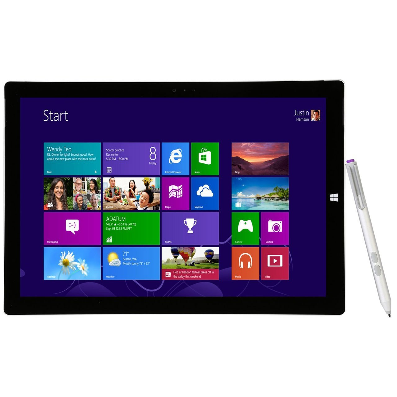 تبلت مايکروسافت مدل Surface Pro 3 - A ظرفيت 256 گيگابايت