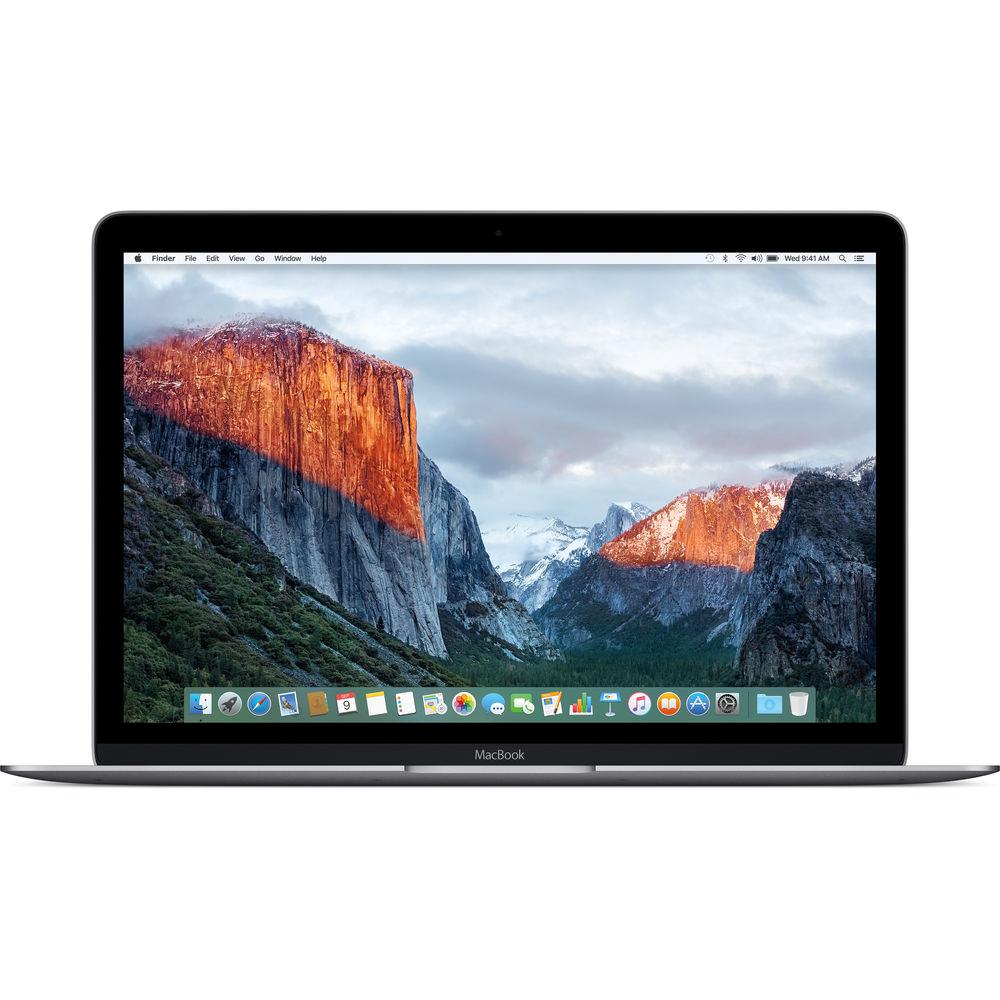 لپ تاپ 12 اينچي اپل مدل MacBook MLH72 2016 با صفحه نمايش رتينا