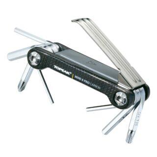 مجموعه ابزار چند کاره دوچرخه تاپيک مدلTopeak Mini 9 Pro CB Tools Accessory