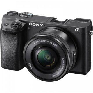دوربین دیجیتال بدون آینه سونی مدل Sony Alpha A6300 Mirrorless Digital Camera With 16-55mm OSS Lens