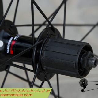 طوقه کامل کورسی شیمانو مدل آر اس 00 سایز 700 سی Shimano Bicycle Rims RS00 700C