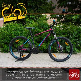 دوچرخه کوهستان جاینت مدل تالون 3 سرخ آبی سایز 27.5 2018 Giant Mountain Bicycle Talon 3 27.5 2018