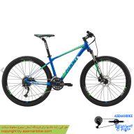 دوچرخه کوهستان دو منظوره جاینت مدل ای تی ایکس الیت 1 آبی سبز سایز 27.5 2018 Giant ATX Elite 1 27.5 2018
