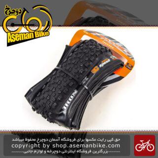 لاستیک دوچرخه کوهستان ماکسیس تیوبلس مدل آیکان سایز 26 در 2.2 Maxxis Tubeless Tire Bicycle Folding Ikon 26x2.2 120 TPI
