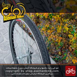 لاستیک شهری ترکینک توریستی جاده وندا کینگ مدل 26 با پهنای 1.75 اینچ Wanda King Tire 26x1.75 Terkking City Bike
