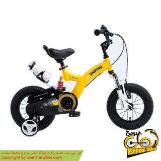 دوچرخه شهري قناري مدل فلایینگ بیر زرد سايز 16 Canary City Bicycle Flyingbear 16