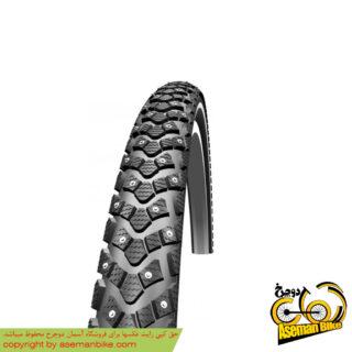 لاستیک کوهستان شوالب ماراتون وینتر ریس گارد سایز 26 در 2.25 Schwalbe Tire Marathon Winter Raceguard 26x2.25