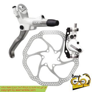 ترمز جلو همراه با روتور صفحه دیسک دوچرخه کوهستان اوید الیکسیر 5 160 اچ اس وان Avid Elixir 3 Disc Hydraulic Disc Brake Front 160 HS1