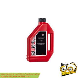 روغن دوشاخ دوچرخه راک شاکس 5 دبلیو تی ۱ لیتر Rock Shox Oil 5wt 1 Liter Suspension Oil