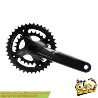 طبق قامه دوچرخه اسرم مدل ایکس 5 SRAM Crankset X5 175 44,33,22