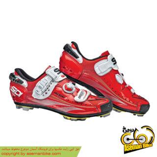 کفش دوچرخه کوهستان سیدی ایتالیا مدل دراگون قرمز SIDI Italy MTB Shoes Dragon