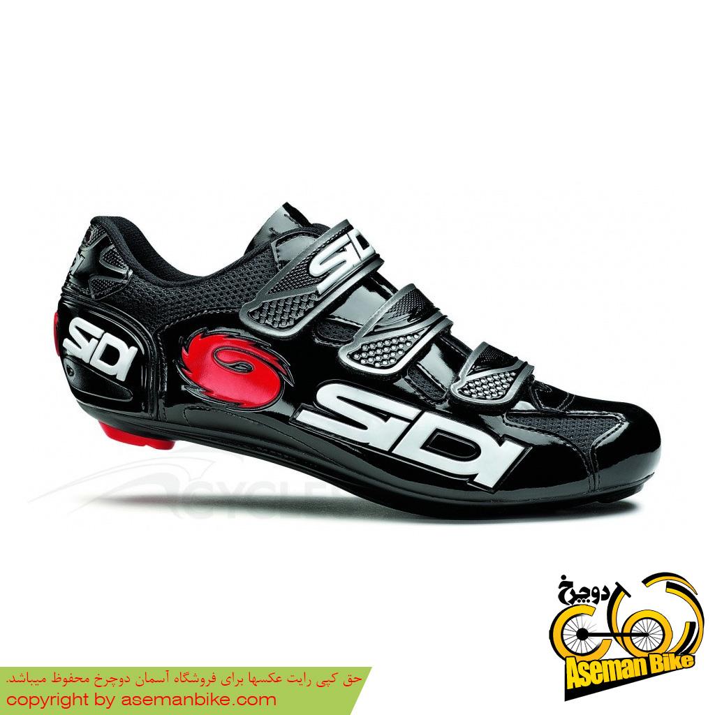کفش دوچرخه کوهستان سیدی ایتالیا مدل لوگو مشکی SIDI ITALIA MTB Shoes Logo Vernice