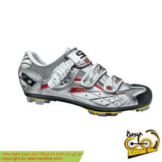 کفش دوچرخه کوهستان سیدی ایتالیا مدل اسپایدر اس آر اس نقره ای SIDI Italy MTB Shoes Spider SRS Silver