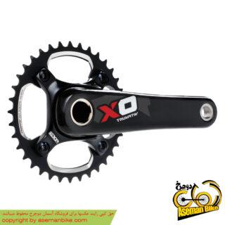 طبق قامه دوچرخه اسرم مدل ایکس زیرو دی اچ SRAM Crankset X0 DH GXP 175 36