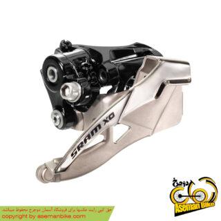 طبق عوض کن اسرم ایکس زیرو 2 در 10 سرعته SRAM Front Derailleur X0 2x10 Speed High Clamp 34.9mm