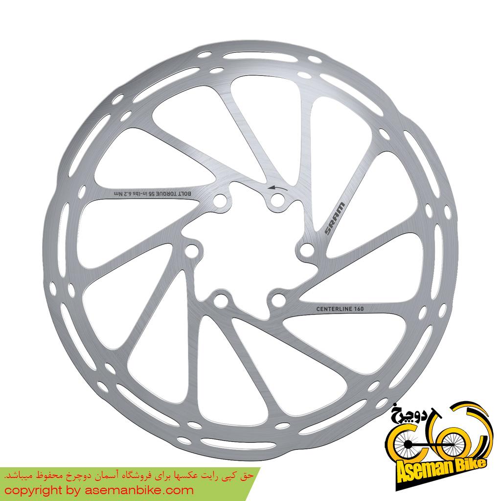 روتور ترمز دوچرخه اسرم ینتر لاین 140 میلیمتری Sram Rotor Centerline 140mm
