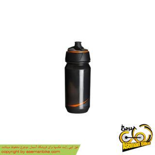 بطری آب دوچرخه تکس شانتی تویست 500 سی سی دودی/نارنجی Tacx Bottle Shanti Twist 500cc