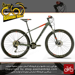 دوچرخه کوهستان کراس کانتری کیوب مدل آنالوگ سایز ۲۷.۵ خاکستری 2018 Cube Mountain Bicycle Analog 27.5 2018