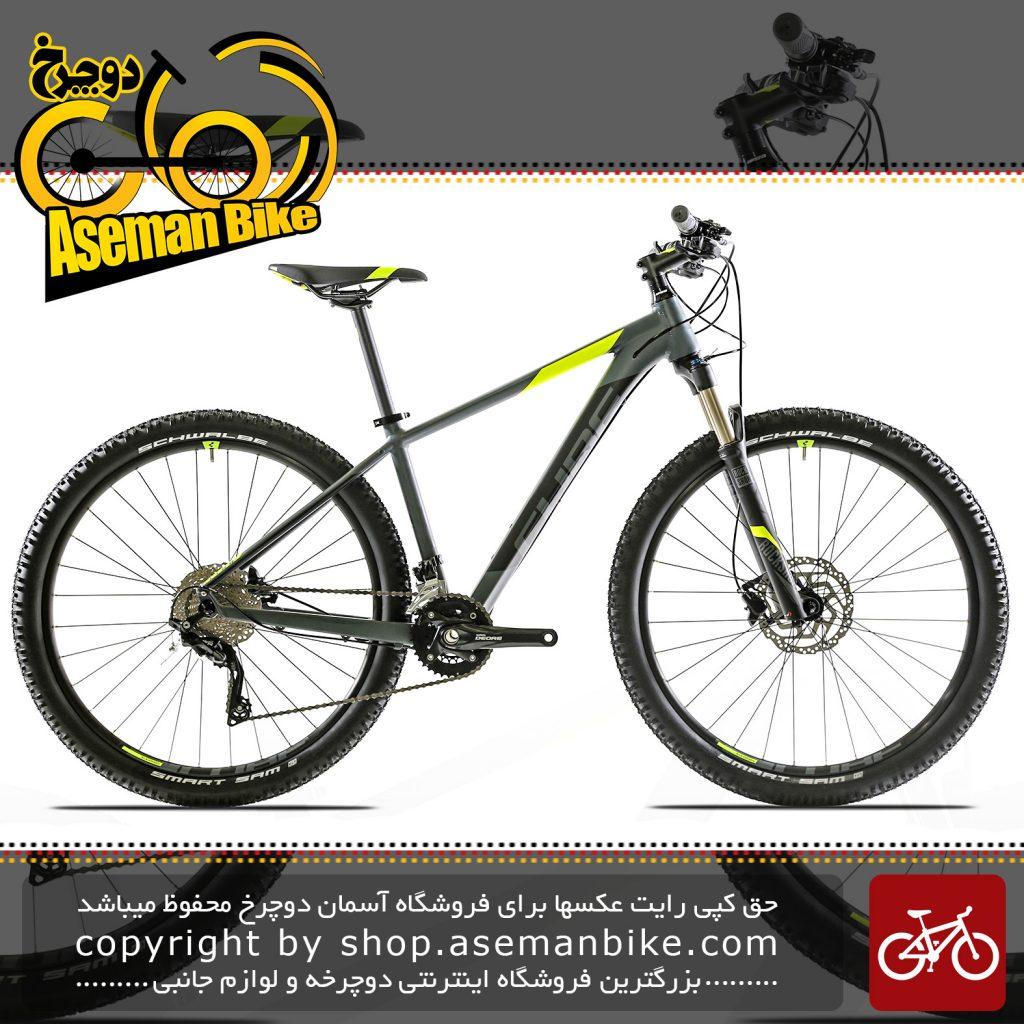 دوچرخه کیوب مدل اتنشن اس ال سایز 27.5 2017 مشکی CUBE Bicycle ATTENTION SL 27.5 2017